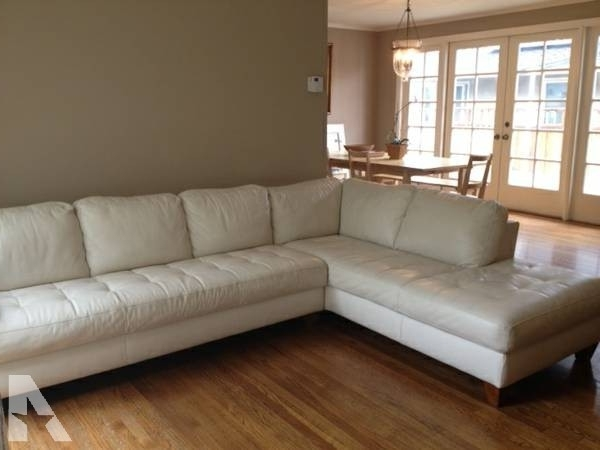 Well Known Macys Leather Sectional Sofas Within Macy's Milano Leather Sectional Sofa – For Sale In Burlingame (View 9 of 10)
