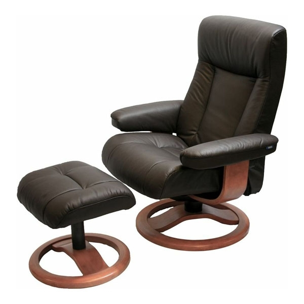 Well Known Magnificent Chairs With Ottoman Scansit 110 Ergonomic Leather Regarding Chairs With Ottoman (View 10 of 10)