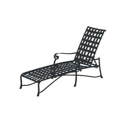 Well Known Metal Patio Furniture – Black – Outdoor Chaise Lounges – Patio Regarding Black Outdoor Chaise Lounge Chairs (View 15 of 15)