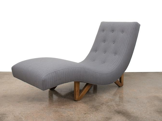 Well Known Mid Century Modern Chaise Lounge (View 3 of 15)