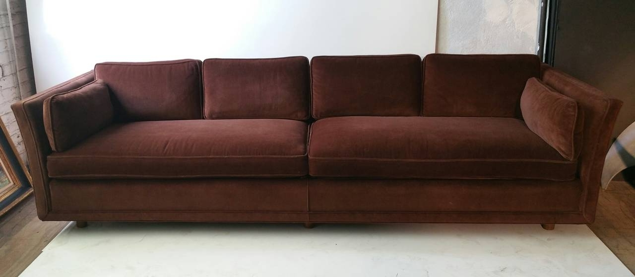 Well Known Modernist Four Seater Sofa, Designedharvey Probber At 1Stdibs Within Four Seater Sofas (View 10 of 10)