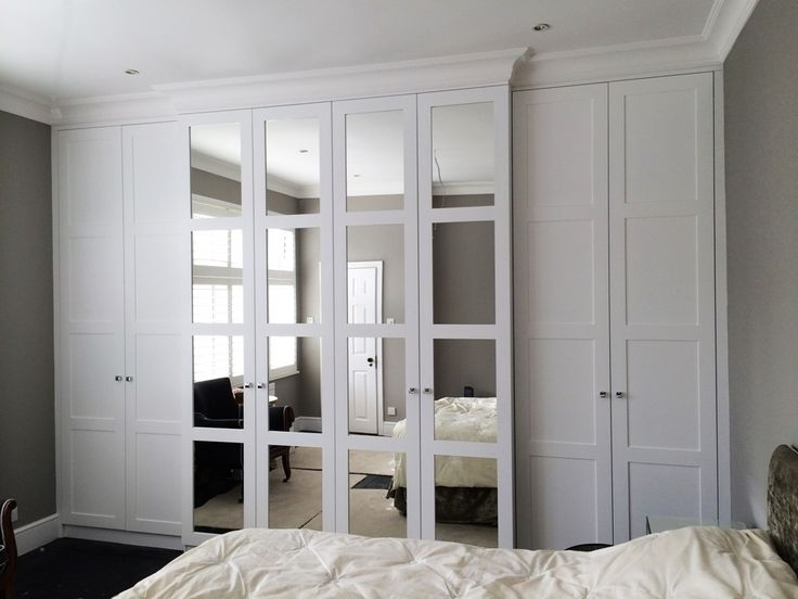 Well Known Nice Bedroom Wardrobes Decoration White Wardrobe Best 25 Fitted In White Bedroom Wardrobes (View 10 of 15)