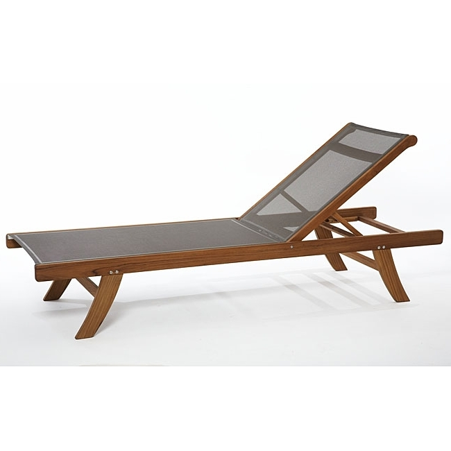 Well Known Outdoor Mesh Chaise Lounge Chairs With Regard To Cape Coral Mesh Chaise Lounge Gray Christopher Knight Home For (View 14 of 15)