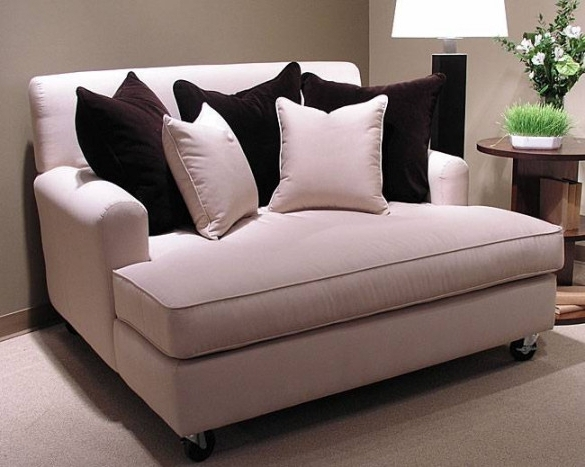 Well Known Oversized Chaise Lounge Chairs With Regard To Double Chaise Lounge Chair Best 25 Indoor Ideas On Pinterest (View 14 of 15)