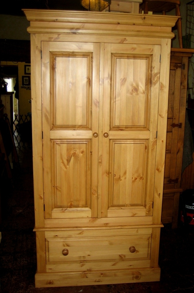 Well Known Pine Wardrobes In Welcome To Holders Fine Furniture Priory Pine Wardrobes (View 14 of 15)