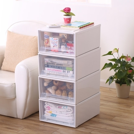 Well Known Plastic Wardrobes Box Regarding 1pcs Plastic Drawer Cabinets,drawer Locker, Wardrobe Boxes (View 10 of 15)