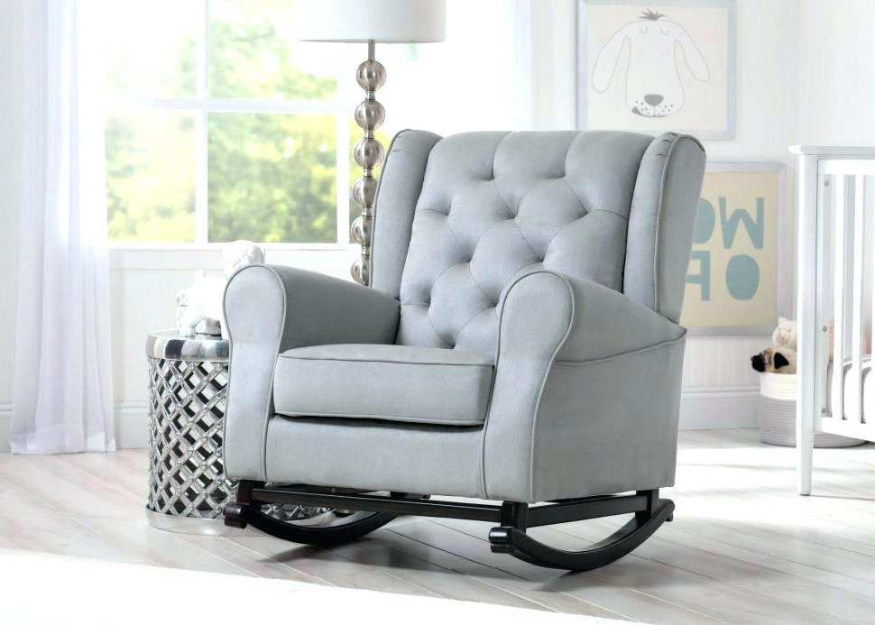 Well Known Rocking Sofa Chair Sofas Center Rocking Chair Recliners Nursing  With Regard To Rocking Sofa