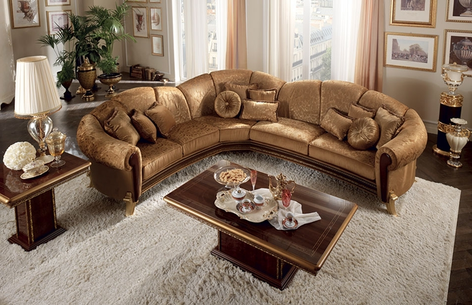 Well Known Sectional Sofa Design: Ten Elegant Sectional Sofas Best Ever With Elegant Sectional Sofas (View 3 of 10)