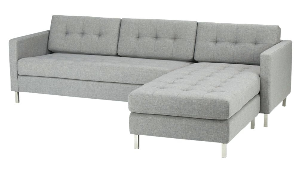 Well Known Sectional Sofas At Calgary Regarding Sectional ~ Grey Leather Sofa Canada Divani Casa Chrysanthemum (View 9 of 10)