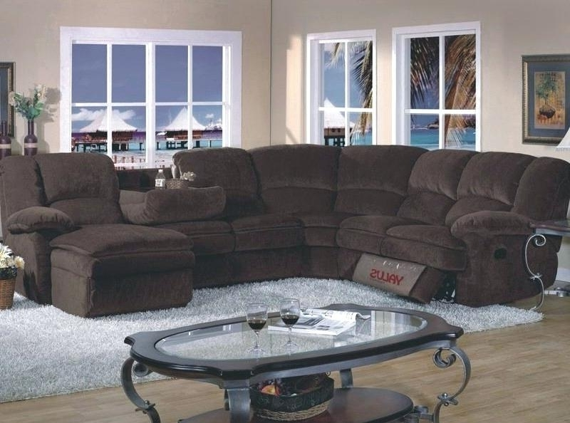 Well Known Sectionals With Chaise And Recliner Pertaining To Sectional Sofa With Chaise And Recliner Sectional Couch With (View 13 of 15)