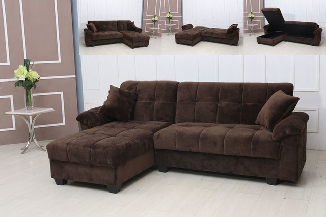 Well Known Sofa Beds Design: Breathtaking Traditional Suede Sectional Sofas Pertaining To Tufted Sectionals With Chaise (View 13 of 15)