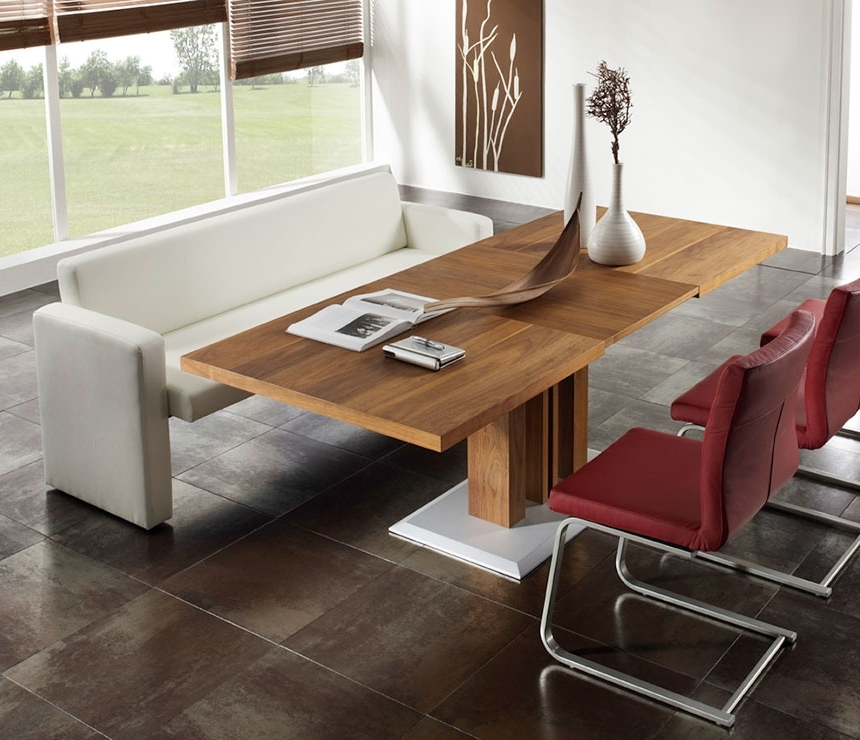 Well Known Sofa Chairs With Dining Table For Contemporary Sofa Dining Tables – Wharfside Contemporary Furniture (View 9 of 10)