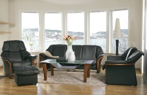 Well Known Stressless Eldorado Low Back Leather Ergonomic Sofa Couch Regarding Ergonomic Sofas And Chairs (View 10 of 10)