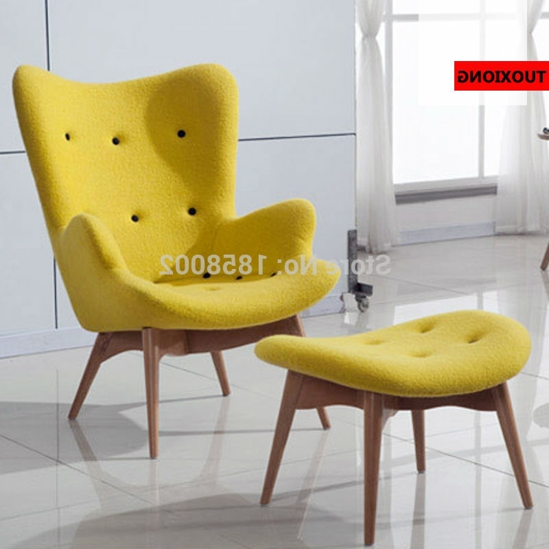 Well Known Studio Chairs Casual High Back Parlor Chaise Lounge Ergonomic For Yellow Chaise Lounge Chairs (View 13 of 15)