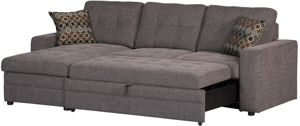 Well Known Stylish Sectional Sofas With Sleepers Alluring Home Design Within Small Sofas With Chaise (View 12 of 15)