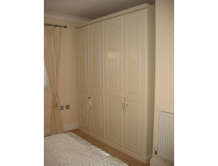 Well Known Tall Wardrobes Within Hand Made Bespoke Personalised Childrens 4 Door Wardrobes Made In (View 14 of 15)