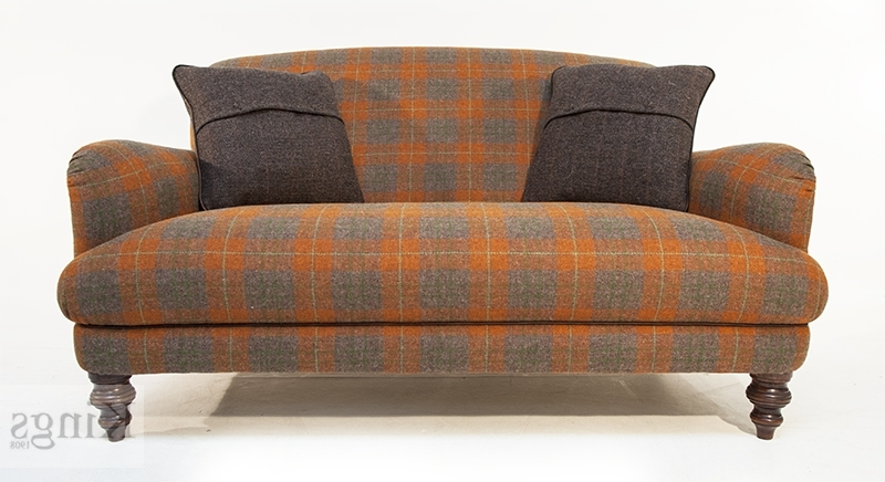 Well Known Tweed Fabric Sofas Pertaining To Tetrad Harris Tweed Braemar Petit Sofa (View 9 of 10)