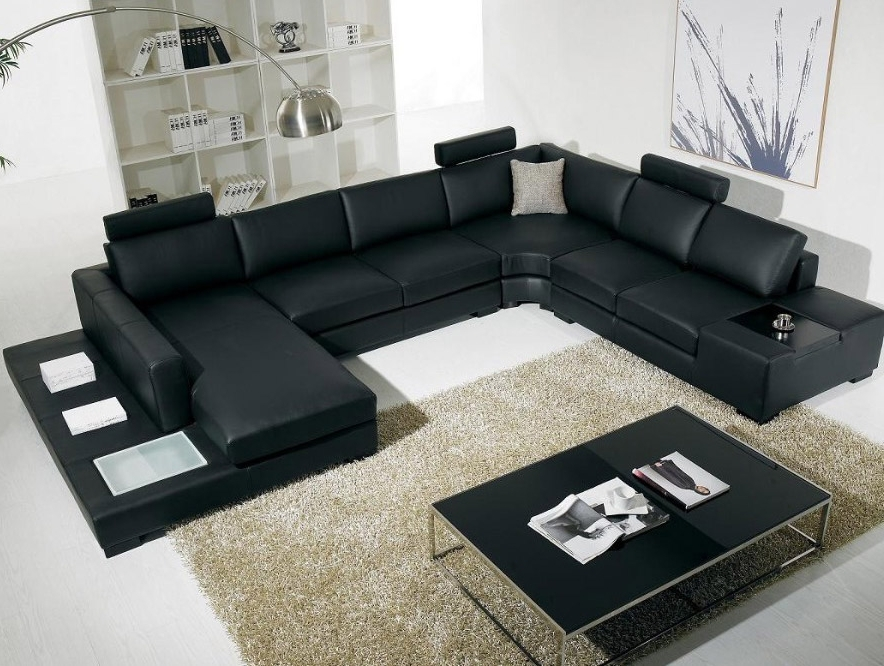 Well Known Vanity Sofa Glamorous Modern Leather Sectional Sofas With Tablejpg Pertaining To Vt Sectional Sofas (View 10 of 10)