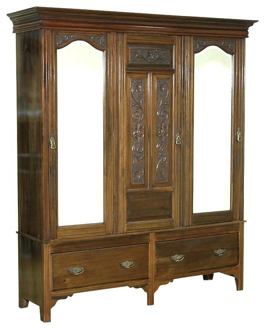 Well Known Victorian Armoire Wardrobe – Paulsstainedglass With Cheap Vintage Wardrobes (View 15 of 15)