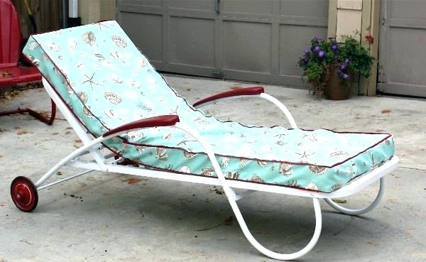 Well Known Vintage Outdoor Chaise Lounge Chairs Intended For Vintage Metal Chaise Lounge Vintage Chaise Lounge Luxury A (View 15 of 15)