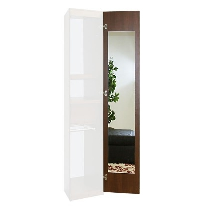 Well Known Wardrobe Closet Interior Mirror Upgrade – Single Mirror, 180 Within One Door Wardrobes With Mirror (View 15 of 15)