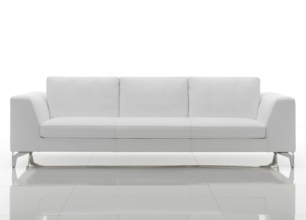 Well Known White Modern Sofas Throughout Sofa (View 6 of 10)