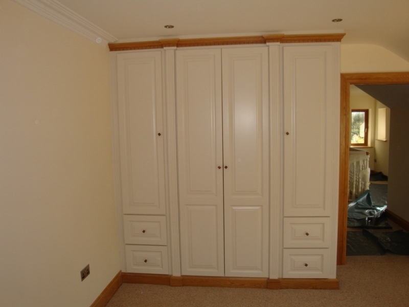 Well Known White Oak Wardrobe Wardrobes Fitted Wardrobes And Mirrored Within Oak And White Wardrobes (View 14 of 15)