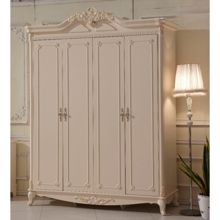 Well Known White Wood Wardrobe Doors Effect How To Paint A Wooden With Inside White Wood Wardrobes With Drawers (View 8 of 15)
