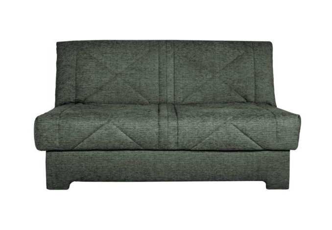 Well Known Wide Sofa Chairs With 120Cm Compact Double Sofa Bed – Aztec – Sofa Sets (View 6 of 10)