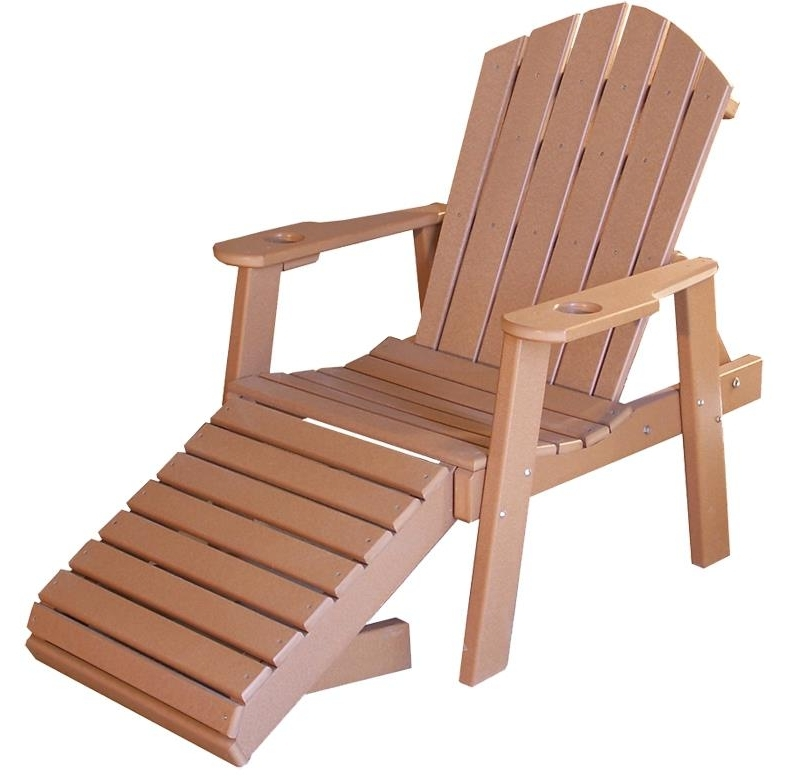 Well Known Wooden Outdoor Chaise Lounge Chairs Regarding Classic Poly Chaise Lounge Chair From Dutchcrafters Amish Furniture (View 10 of 15)