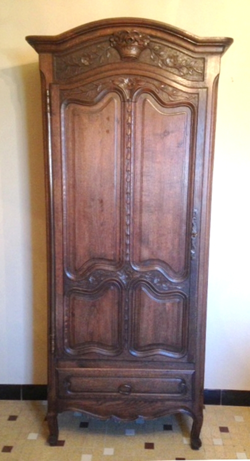 Well Liked Antique Single Wardrobes Throughout French Armoires > Antique Armoires, Rococo, Vintage Provencal (View 15 of 15)
