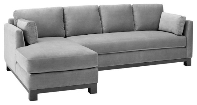 Well Liked Beautiful Grey Couch With Chaise 36 On Modern Sofa Ideas With Grey Pertaining To Chaise Couches (View 14 of 15)