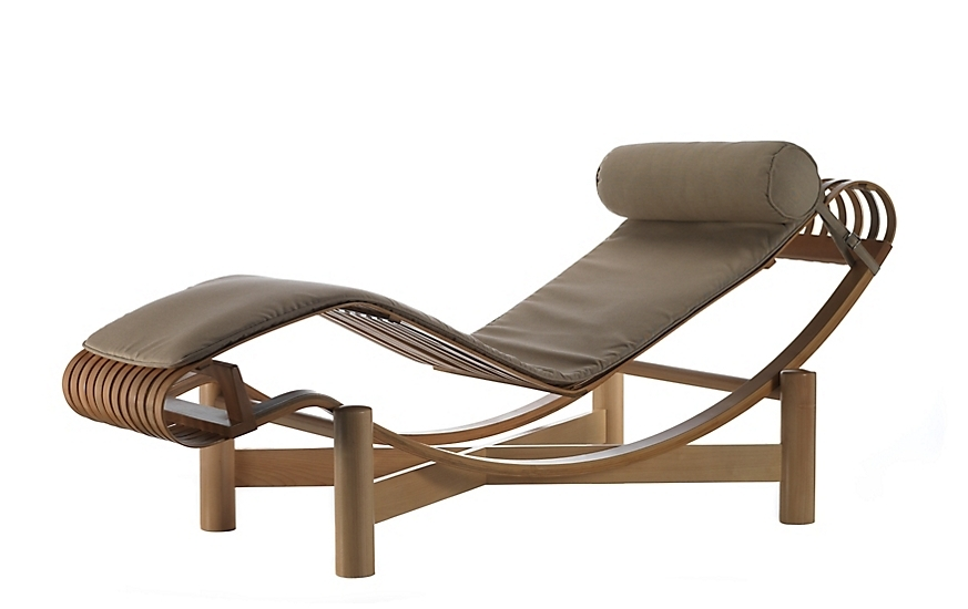 Well Liked Chaise Lounges Outdoor Modern Tokyo Lounge Design Within Reach 6 In Metal Chaise Lounge Chairs (View 14 of 15)
