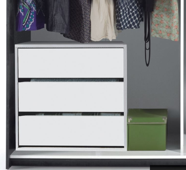 Well Liked Cheap Wardrobes And Chest Of Drawers Intended For Savona Universal Internal Drawers For Wardrobes Sale (View 15 of 15)
