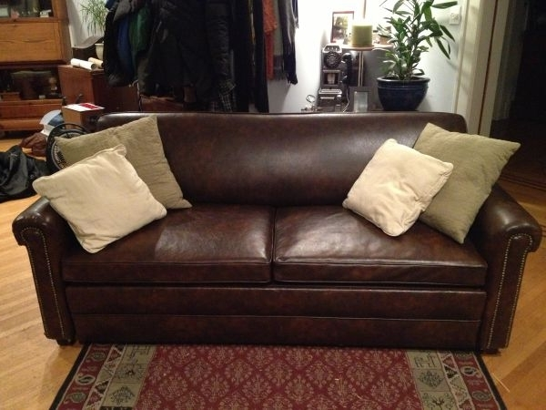Well Liked Craigslist Leather Sofas Within Lovely Leather Couch Craigslist 56 For Contemporary Sofa (View 2 of 10)