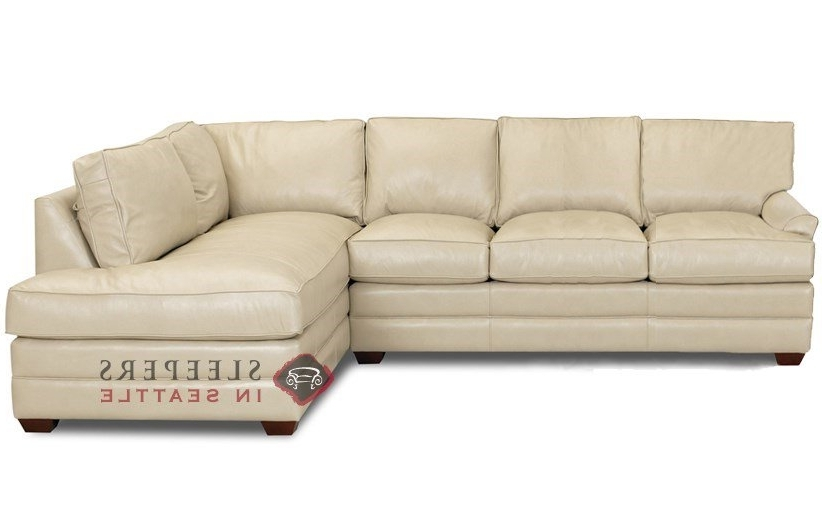 Well Liked Customize And Personalize Gold Coast Chaise Sectional Leather Sofa In Chaise Sleeper Sofas (View 15 of 15)