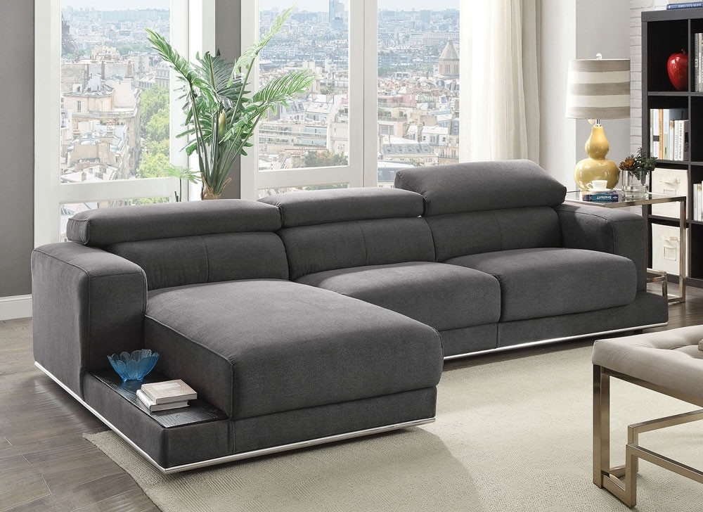 Well Liked Fabric Sectional Sofas With Modern Fabric Sectional Sofa (View 10 of 10)