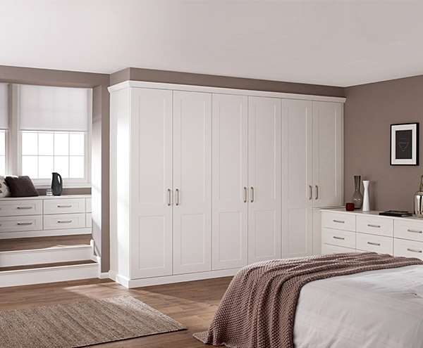 Well Liked Fitted Bedroom Wardrobes – Hepplewhite Fitted Bedrooms With Regard To White Bedroom Wardrobes (View 12 of 15)