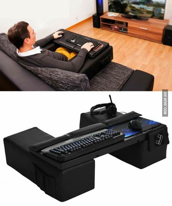 Well Liked Gaming Sofa Chairs With Anyone Game From Their Couch With A Keyboard And Mouse? How? (View 5 of 10)