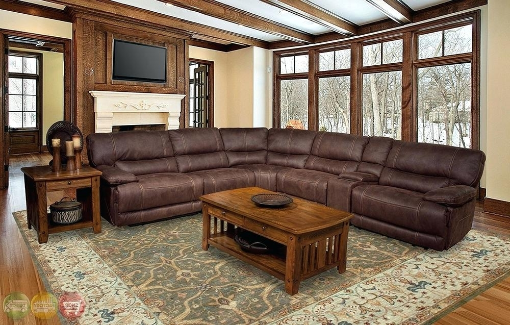 Well Liked Jedd Fabric Reclining Sectional Sofas Pertaining To Fascinating Power Reclining Sectional Sofa Modern Sectional Sofa (View 10 of 10)