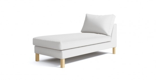 Well Liked Karlstad Chaises Regarding Karlstad Chaise Lounge Stand Alone Cover (View 14 of 15)