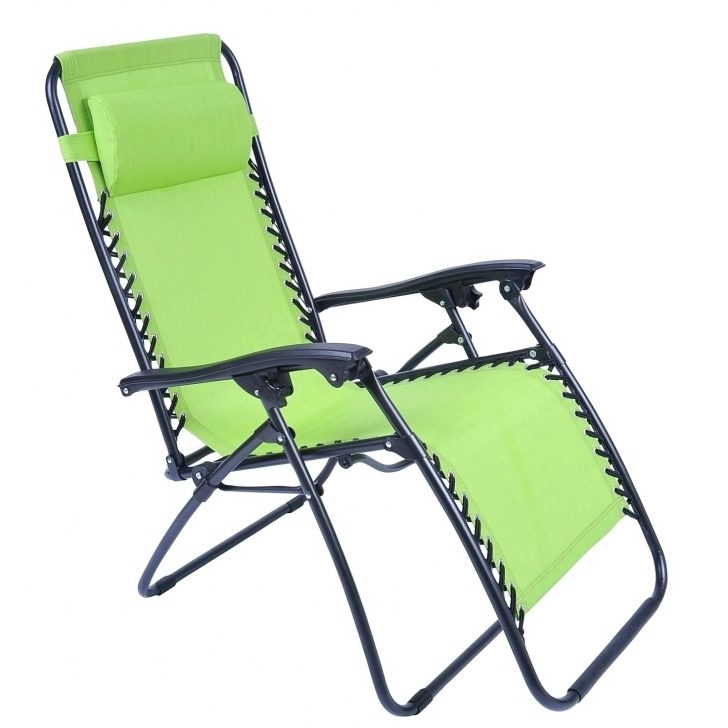 Well Liked Lounge Chair : Folding Lawn Chairs Sturdy Outdoor Chaise Lounge  Intended For Heavy Duty
