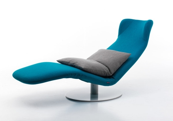 Well Liked Modern Chaise Lounge Chairs Throughout Ergonomic Chaise Lounge Modern Italian Chair Which Turns Into A (View 15 of 15)