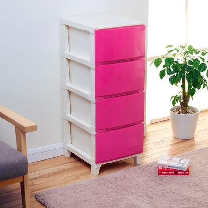 Well Liked Plastic Wardrobes Box Throughout Buy Luoming Da Baby Baby Wardrobe Lockers, Storage Cabinets (View 3 of 15)