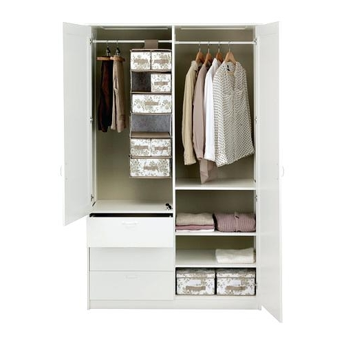 Well Liked Posh Ikea Wardrobes With Drawers Picture White 3 Door Wardrobe And Inside 3 Door Wardrobes With Drawers And Shelves (View 15 of 15)
