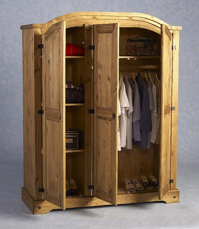 Well Liked Seconique Corona 3 Door Wardrobe (View 14 of 15)