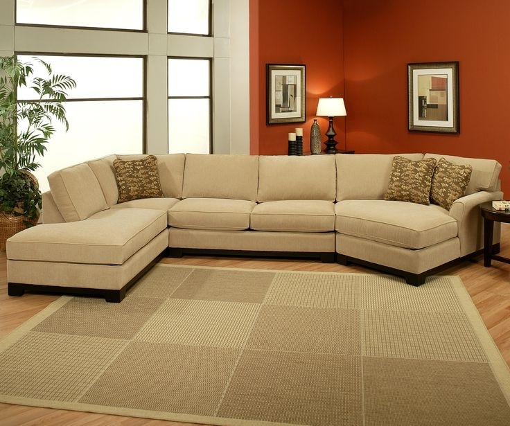 Well Liked Sectional Sofa Design: 3 Pieces Wonderful Sofa With Chaise 3 Piece With Cuddler Sectional Sofas (View 9 of 10)