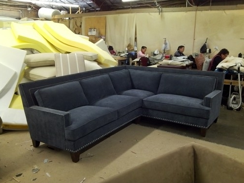 Well Liked Sectional Sofas With Nailhead Trim Regarding Sectional Sofa With Nailhead Trim Price Of The Blue 17 – Quantiply (View 4 of 10)