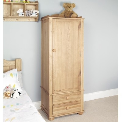 Well Liked Single Pine Wardrobes Throughout Oak Wardrobes (View 10 of 15)