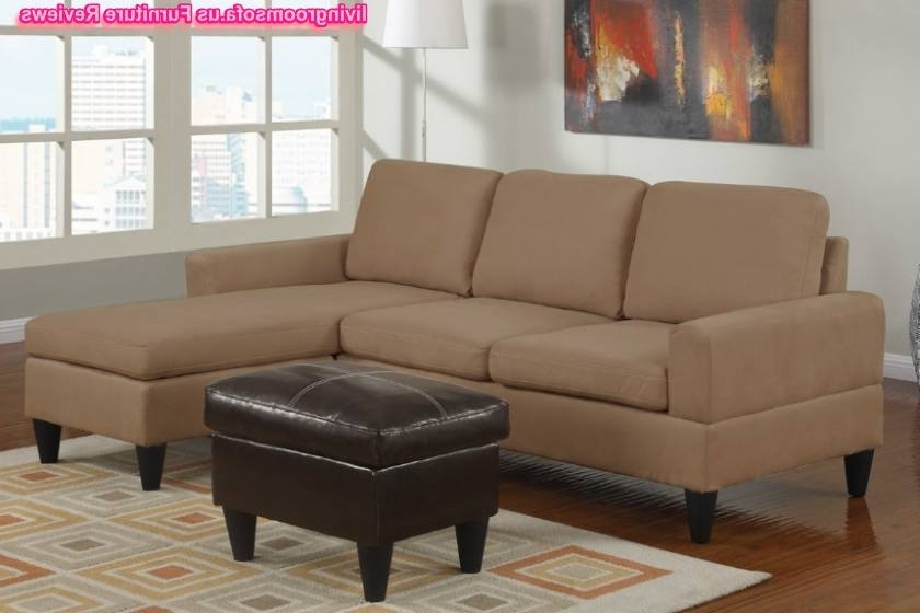 Well Liked Virginia Beach Sectional Sofas With Regard To Modern Style Apartment Size Leather Sectional Sofa And Exquisite (View 9 of 10)